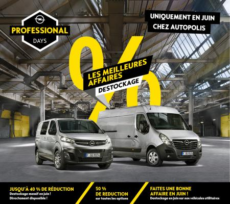 Outlet Opel Véhicules Utilitaires