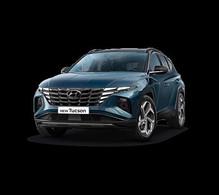 Hyundai New Tucson Hybrid Shine pour 379€/mois*