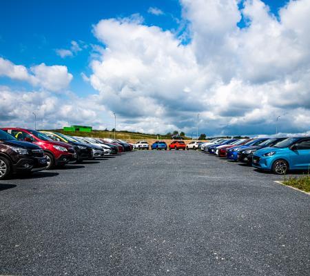 Large choix de véhicules d'occasion